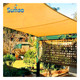 HDPE triangle sun shade sail canopy garden awnings