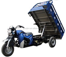 tipper trimotocycle, dumping trimotocycle