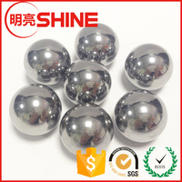 high polished large size solid metal ball 10mm stainless steel ball