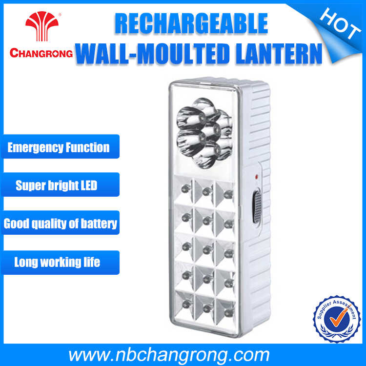 Rechargeable LED Emergency Lamp With 15+7pcs LED