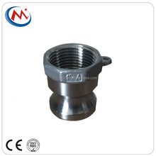 304 316 Stainless Steel Camlock Quick Coupling Adaptor Female Thread