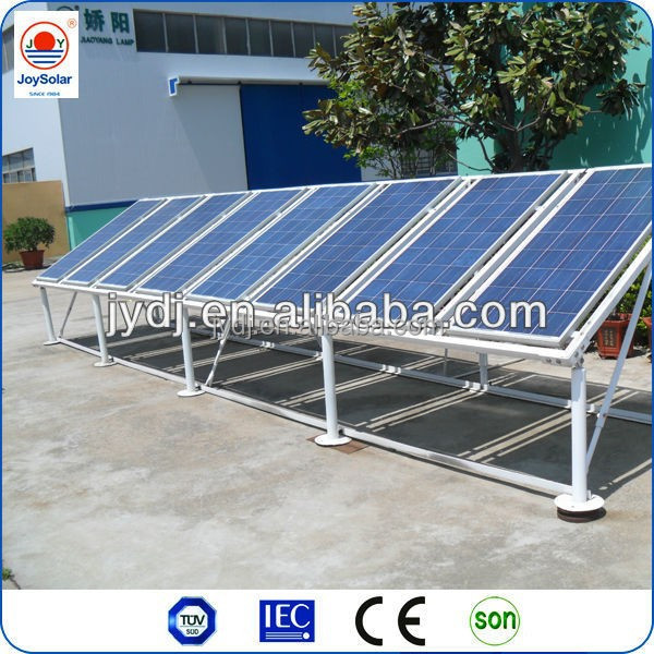 24v 12v dc 300w poly led solar light panel