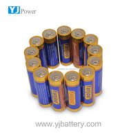 alkaline battery lr6 1.5v dry battery LR6 UM-3 1.5V AA size Zn/MnO2 battery with latest product of china