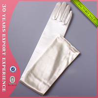 Factory Wholesale High Quanlity Long Satin Opera Gloves Cosplay Dancing Gloves Evening Party Sexy Bridal Gloves 9201I