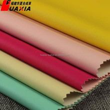 Colorful PU synthetic garment leather