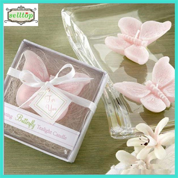 Hot sell butterfly candle 2014 philippines wedding giveaways