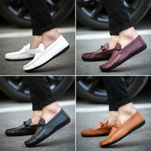 MS1005 Factory sale 2017 male white casual shoes lazy shoes men shoes