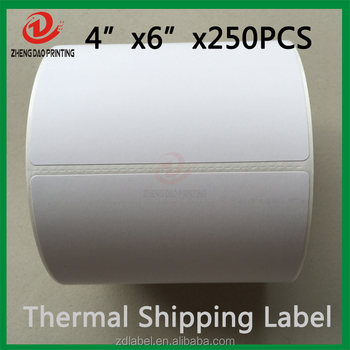 Direct Thermal Labels Roll For Zebra 2844 Eltron Printer