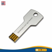 high quality key shape usb flash drives bulk 2gb with custom logo