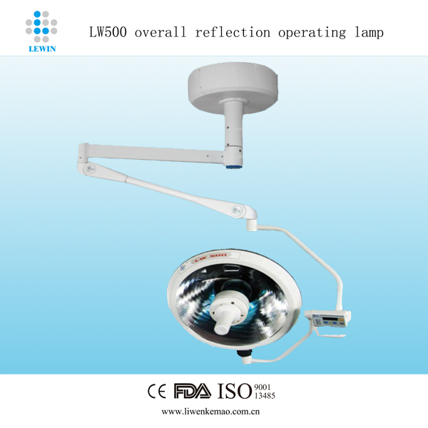 Hospital space saving Operating Lamp price LW500 dental clinic operating light