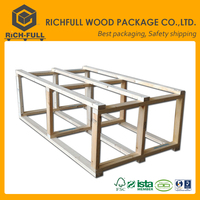Unfinished wood box with slide lid euro pallet price