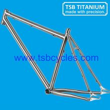 S-bent seat stay and chain stay bike frame with Sliding dropout TSB-STM0901