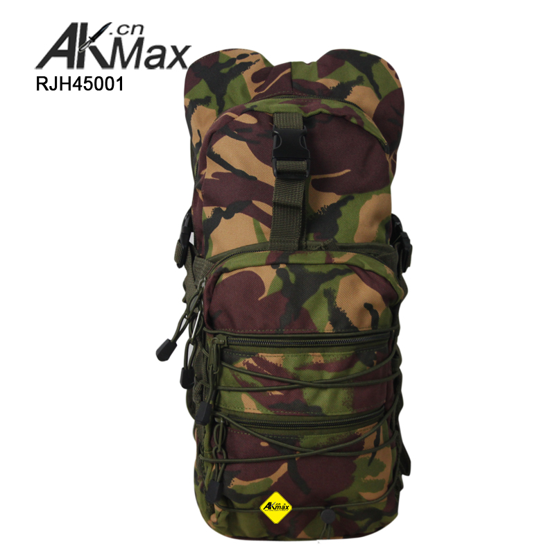 Military camouflage custom camelbak hydration pack