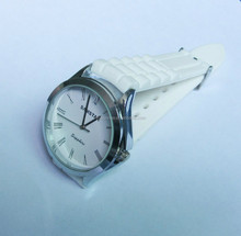 Newest and popular geneva Japan movet plastic bezel watches