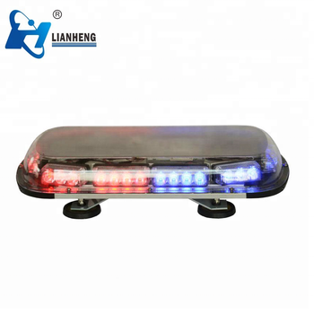 colorful shakeproof bright and short warning light bar DC12V LED warning lights
