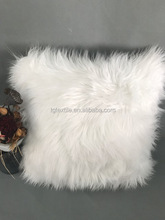 LUXURY LONGHAIR FAUX FUR DECORATIVE CUSHION