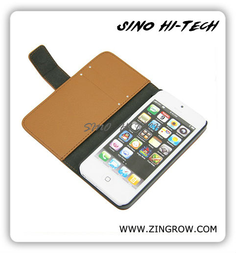 2013 Newest Design Wallet Case for Iphone5 Welcome Sample Order