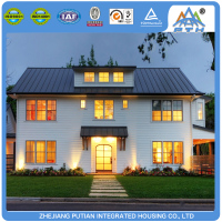 American style hot sale prefab house light steel villa