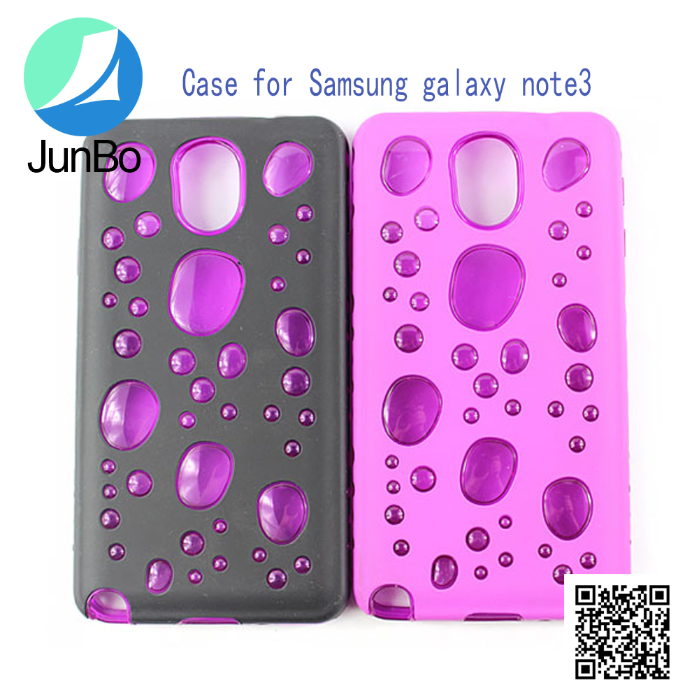 New design 3D phone case bubble case for samsung note 3 wholesale phone accessory
