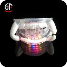 Glow Flashing Teeth LED Blinking Mouthpiece for Party