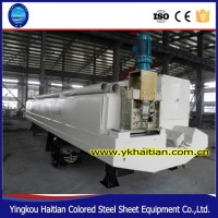Hot Sale Color Steel Use K Arch Sheet Metal Roofing Cold Roll Forming Machine Price