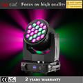 19x40w flower effect wash moving head zoom stage lighting for dj
