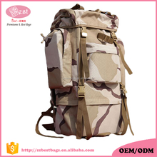 Custom Military waterproof camouflage backpack manufacturer
