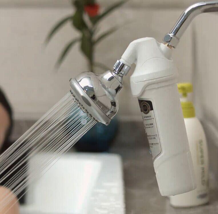 filter cartridge alkaline for shower filter remove chlorine with kdf media and adjustable shower. Black Bedroom Furniture Sets. Home Design Ideas