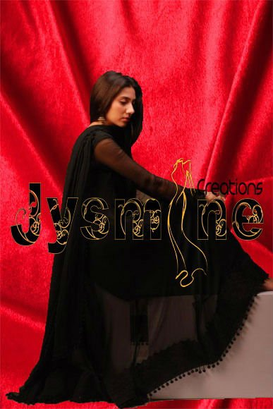 Humsafar Gorgeous Black Frock Replica