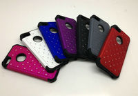 Luxury Designer Bling Crystals Rhinestones Hard Case Cover for Apple iPhone 5 5G