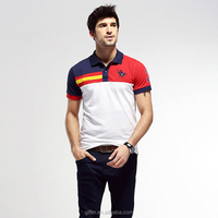 Wholesale customized polo t shirts with my company embroidered logo