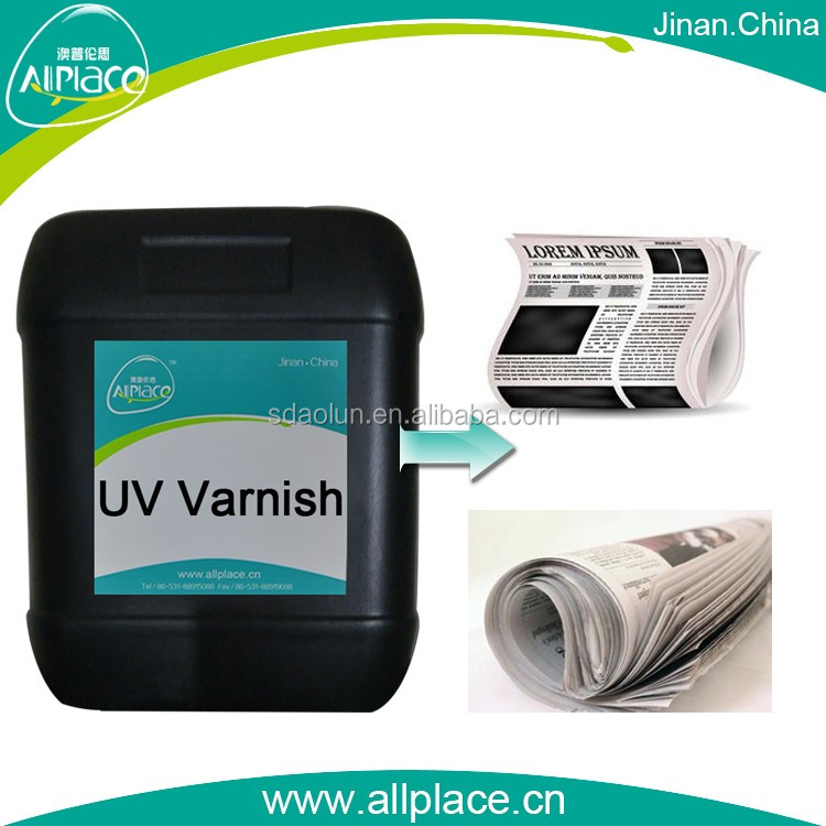 In the world Acid and alkali resistance uv paint for paper