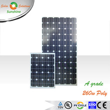 China manufacture PV solar panel 100w 150w 200w 250w 260W 300w solar panel