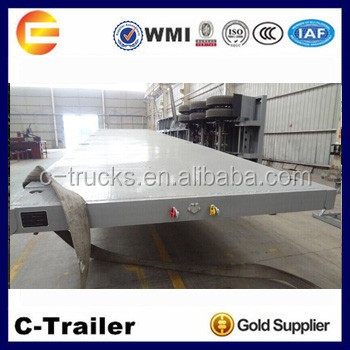 According to your requirement.Truck Trailer 40t Flat Bed Semi Trailer for Sale