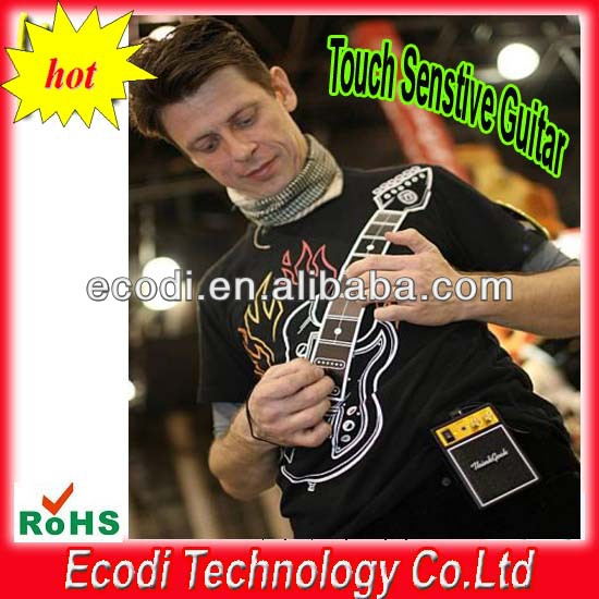 Hot!! New!!Electronic Rock Guitar t-Shirt supplier from china