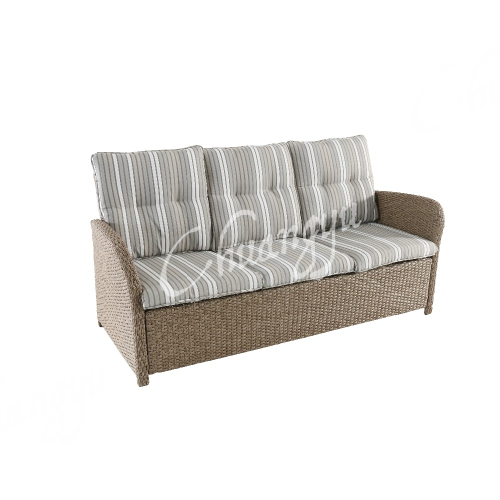 Good quality furniture garden sofa of rattan garden furniture of patio sofa set with cushion