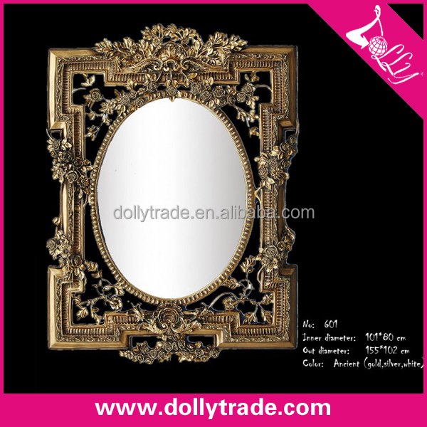 155*102CM Wholesale Alibaba Resin Moulding Antique Gold Oil Painting Frame