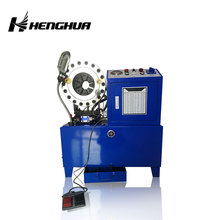 HF51 Hydraulic hose clamping press buckling machine for hose crimping
