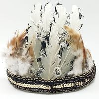 Best selling high quality feather carnival headdress