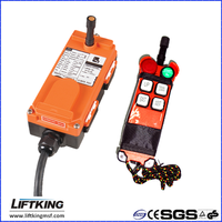 portable remote control for electric chain hoist and crane