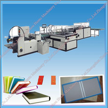 CE Certificated Hard Cover Book Making Machine in China