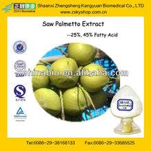 GMP Manufacturer Supply Natural Saw Palmetto Extract/CAS No. 84604-15-9