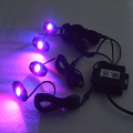 9W LED RGB rock light for Vehicle Under Cars Truck Jeep Boat Interior and Exterior 4 Wheeler