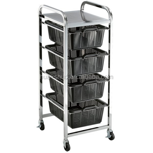 Modern beauty salon furniture and furniture moving trolleys for home office and salon use