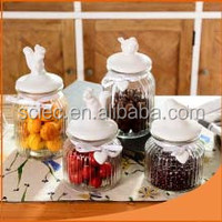 Best Selling High quality glass jar factory from gold supplier made in China