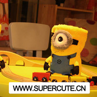 Polyester Fabric Minion Super Soft Fabric For Baby Blanket Wholesale