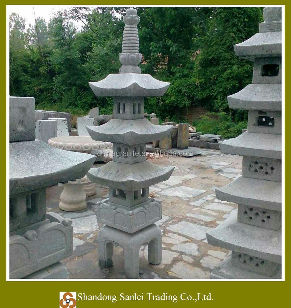 Superieur Garden Granite Lantern Japanese ...