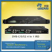 DVB-C/S/S2/T2/T Satellite Receiver Decoder One CAM can decrypt multiple programs from Tuners/ASI/IP