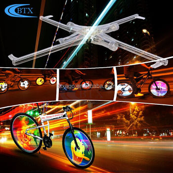 IP66 Waterproof led bicycle wheel light Bike Accessories USB LED Bicycle Light