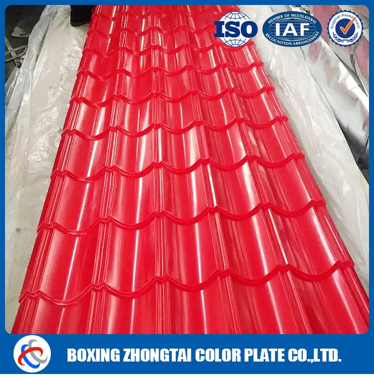 Cold rolled color corrugated roofing sheets